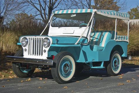 1960 Jeep Willys 1960 Willys Jeep Surrey 96353
