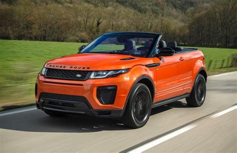 Convertiblesnot Just For Cars Anymore by The Range Rover Evoque Convertible Not Just For Summer
