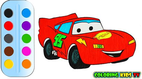 kid car drawing coloring pages little red car drawing for children how
