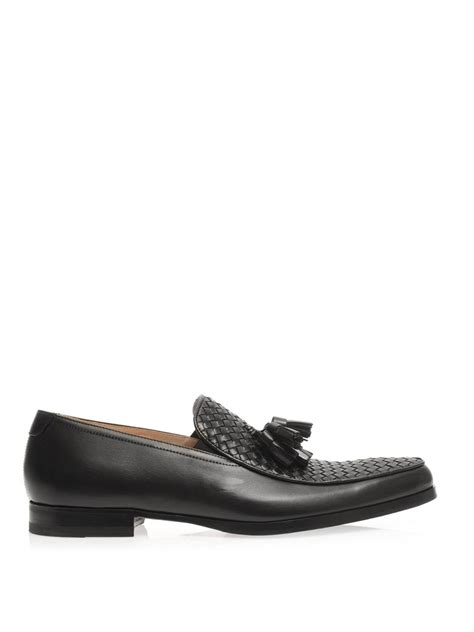 mr hare loafers lyst mr hare genet tassel loafers in black for