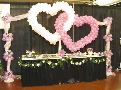 wedding balloon arches   DOUBLE HEART BALLOONS FOR WEDDING