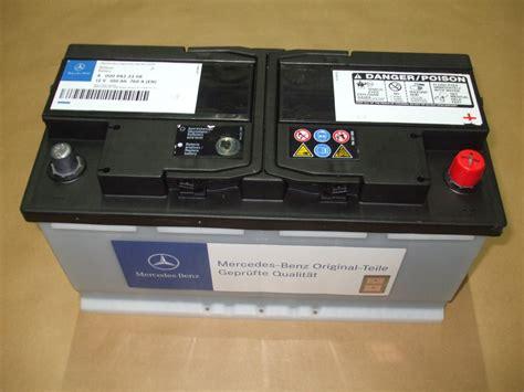 mercedes battery mercedes batterie 100 ah blei calcium silber technologie