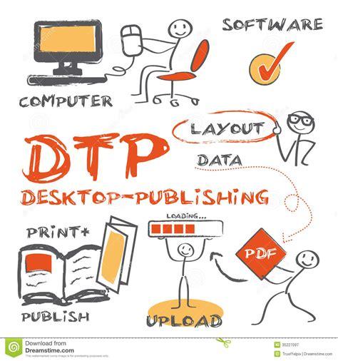 printable area in dtp dtp desktop publishing concept royalty free stock