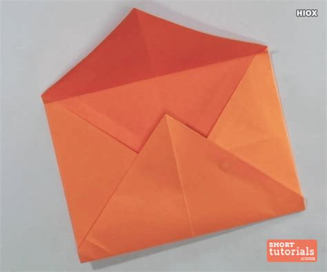 How To Make A Envelope From Paper - make origami envelope square paper comot