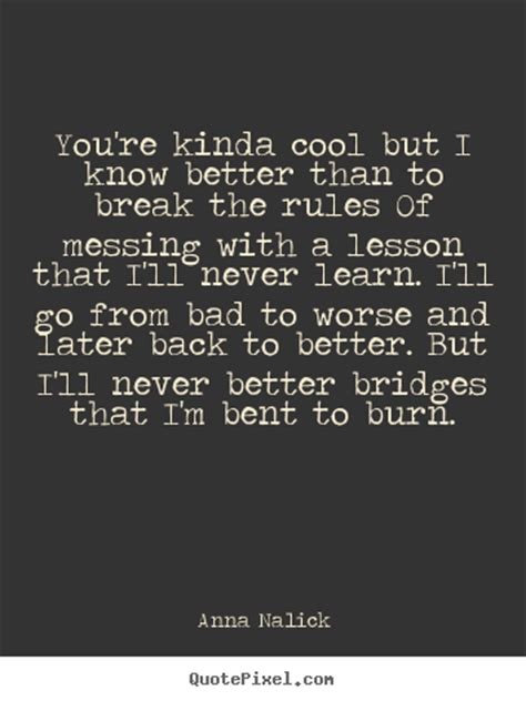 Will Never Learn by Nalick Quotes Quotepixel