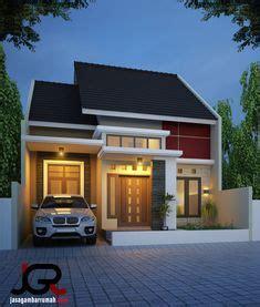 contoh desain rumah minimalis type  modern  elgant