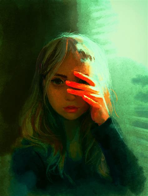paint deviantart scared of the light speedpaint by destinyblue on deviantart