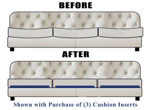 couch cushions sagging sagging couch cushion and mattress support for sofas