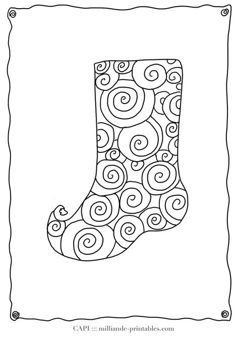 coloring page christmas stocking pattern 1000 images about cards christmas on pinterest