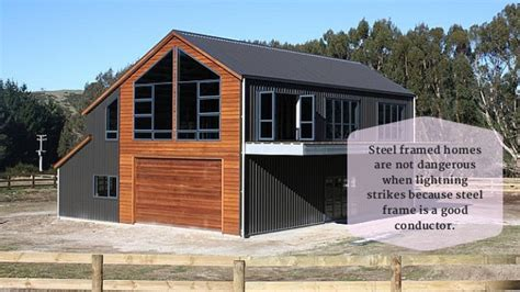 metal frame homes facts about steel framed houses