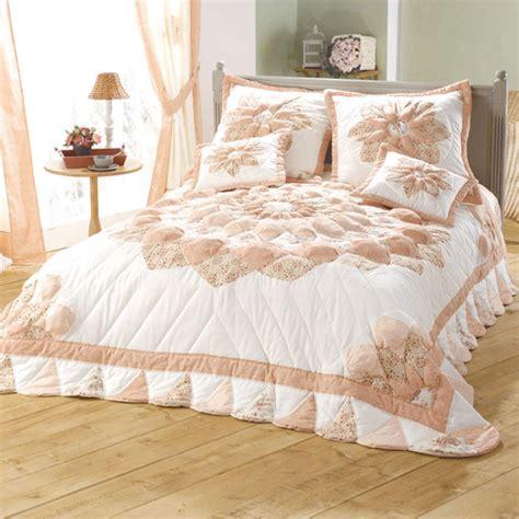 couvre lit 2 personnes patchwork rosace acheter ce