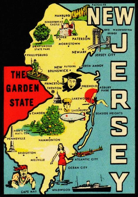 Garden State Jersey New Jersey The Garden State All Things Jersey