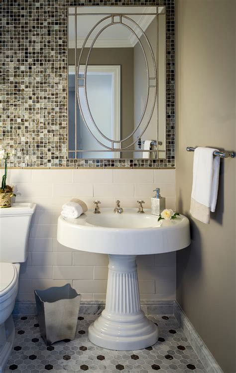 Pedestal Sink Bathroom Design Ideas Interior Design Ideas Home Bunch Interior Design Ideas