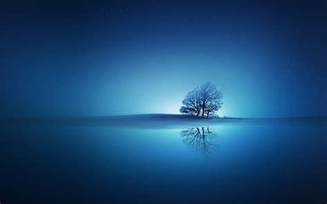 wallpaper 4k blue blue reflections 4k widescreen uhd wallpaper hd wallpapers
