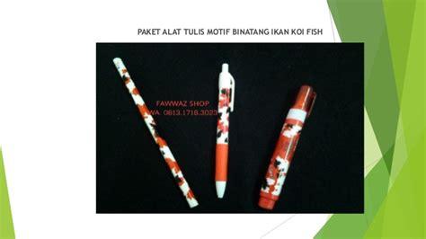 Alat Tulis Pulpen Gel Pen Orca Pulpen Ikan Paus alat tulis dan kantor alat tulis dalam bahasa inggris
