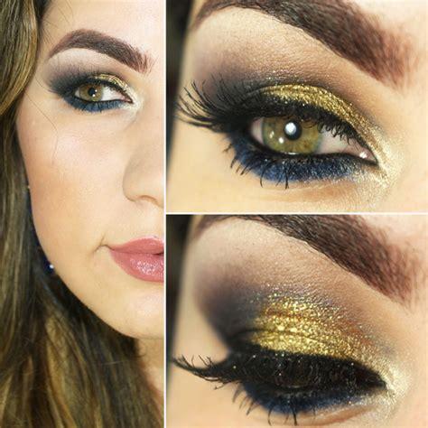 tutorial makeup vira tutorial maquiagem para pele morena e negra com dourado