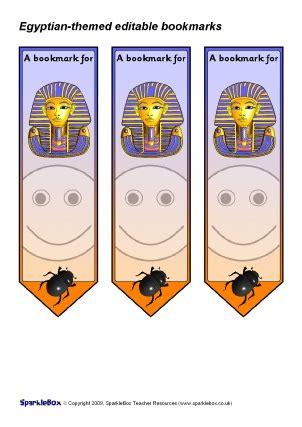 printable egyptian bookmarks printable award bookmarks for primary ks1 ks2 sparklebox