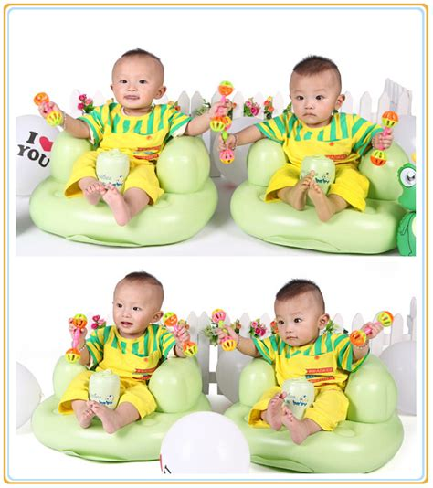 kids inflatable sofa portable inflatable kids bean bag children toy tools