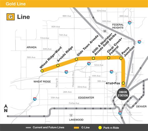 metro gold line map gold g line