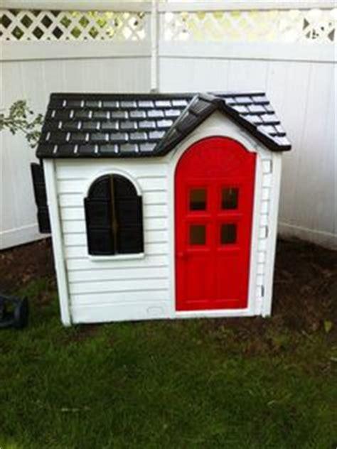 1000 ideas about tikes playhouse on plastic playhouse tikes makeover