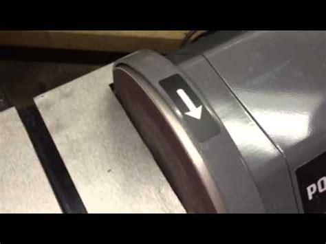 porter cable bench sander full download belt sander repair replacing the drum bearing porter cable part 804211