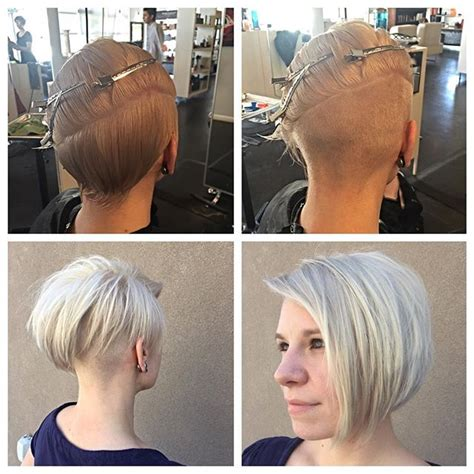 short bob haircuts shaved on one side 50 adorable asymmetrical bob hairstyles 2018 hottest bob