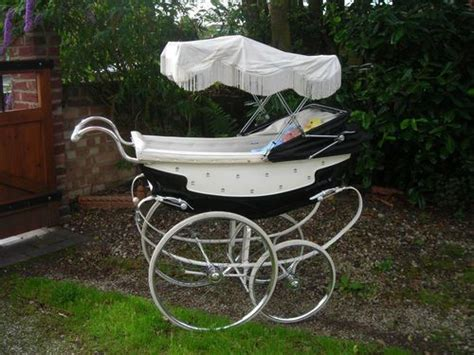 sissy pram vintage moorlands clip on sun canopy for silver cross