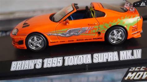 Greenlight Fast Furious Toyota Supra Mk Iv fast and furious greenlight collectibles brian s 1995 toyota supra mk iv