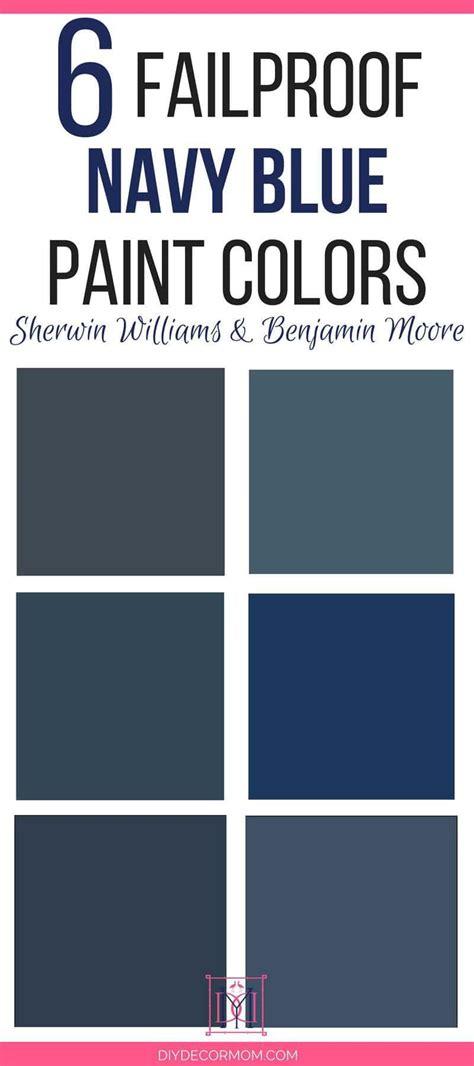 best blue paint colors best navy paint colors designers 6 failproof paint