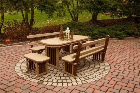 Polywood Patio Table Modern Patio Outdoor Polywood Patio Furniture