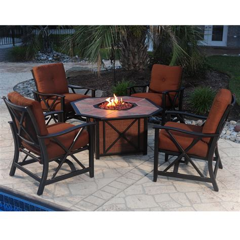 fire pit table set lowes gas fire table set gas fire pit tables costco white fire