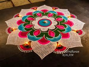 How To Make Paper Cutting Rangoli - 33 best images about rangoli on orange flowers