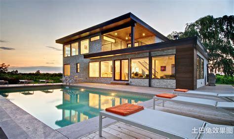 ultra custom home design ta 现代别墅设计图纸及效果图大全 土巴兔装修效果图
