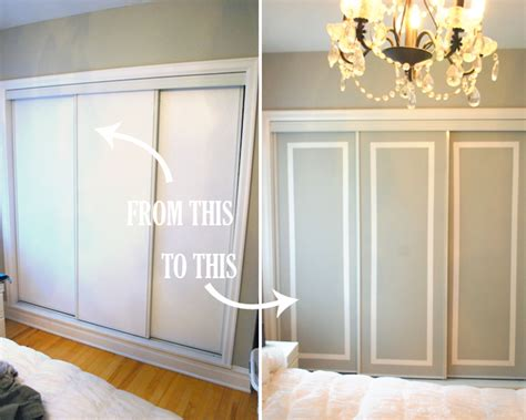 Wardrobe Makeover Ideas by Diy Challenge Give Your Closet Doors A Makeover Ideas