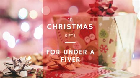 10 christmas gifts for under a fiver life in a break down