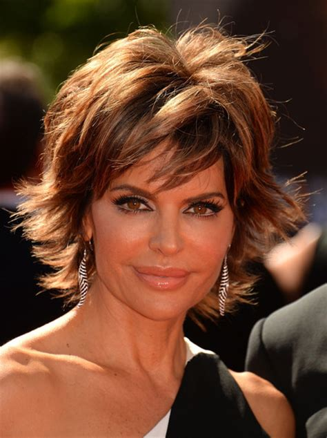 short hairstyles 2014 for local artistes lisa rinna jewelry looks stylebistro