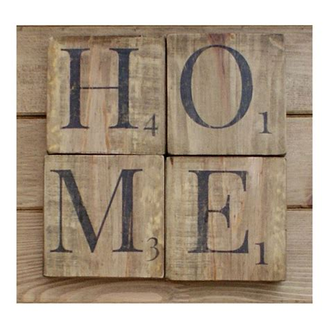 scrabble letters home decor home sign wooden scrabble letters wood wall art reclaimed