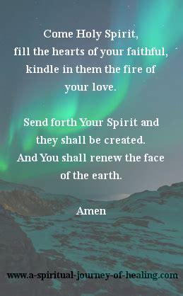 into the light a spiritual journey of healing books holy spirit prayer how to invite the holy spirit