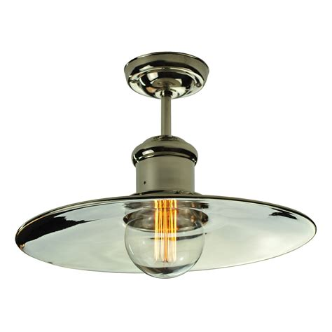 edison ceiling light edison large flush ceiling light enlighten of bath
