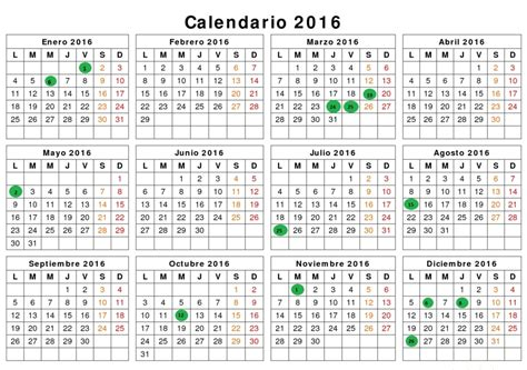 as 237 ser 225 el calendario laboral 2016diarioabierto