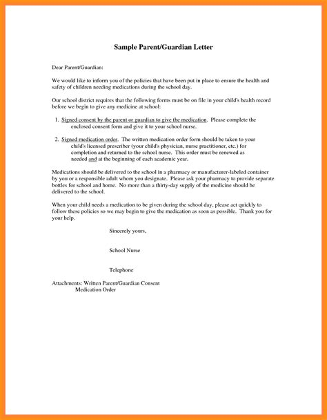consent letter format for use of premises doc 638826 parents consent letter for work parental