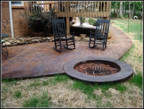 sted concrete patio designs patios home decorating