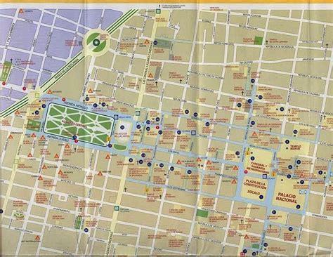 map of mexico city mexico maps of mexico city free printable maps