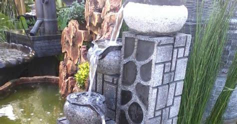 Lu Taman Dinding taman tilusadulur air terjun aksesoris taman