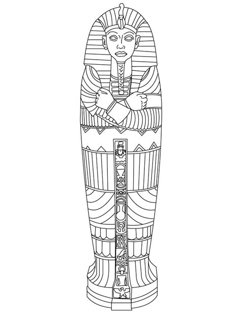 printable mummy coloring pages coloring me