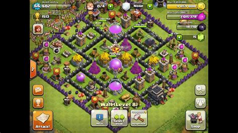 layout design for clash of clans clash of clans ultimate farm layout youtube