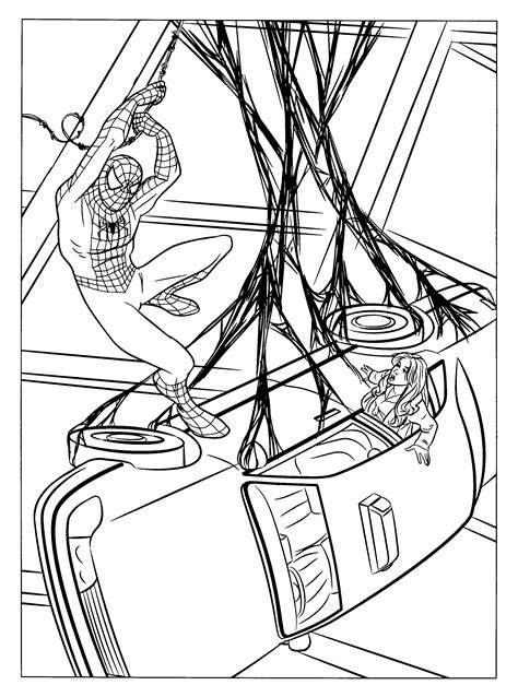 black spider man coloring pages baby coloring pages