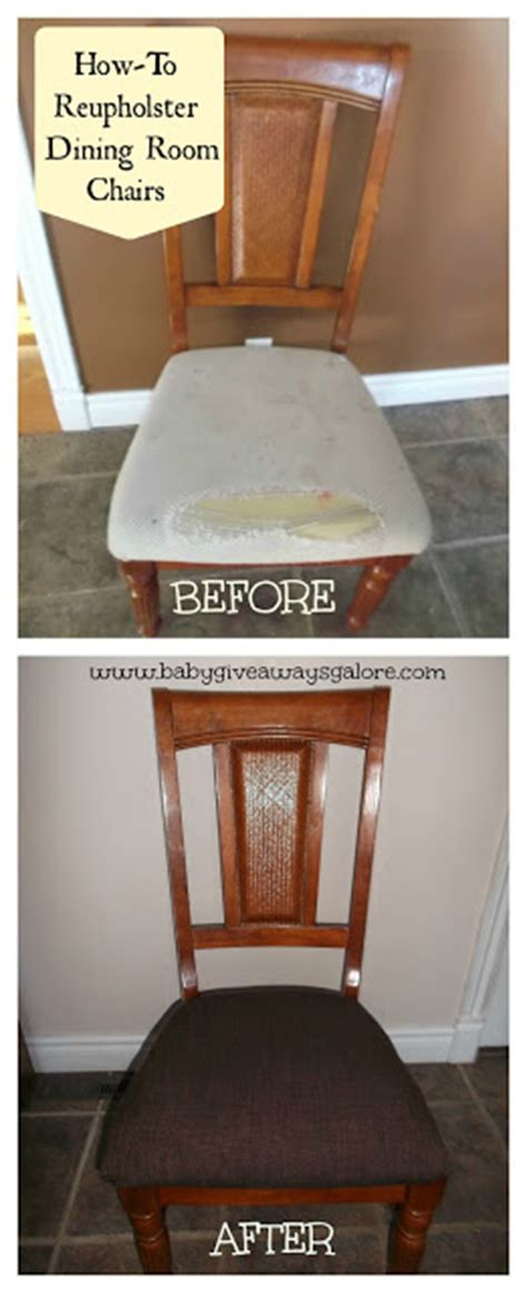 how to reupholster a dining room chair home improvement ideas a mom s take