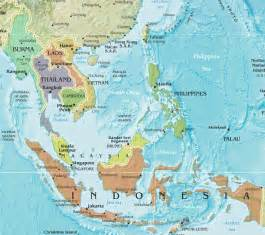 Map Se Asia by Pics Photos Southeast Asia