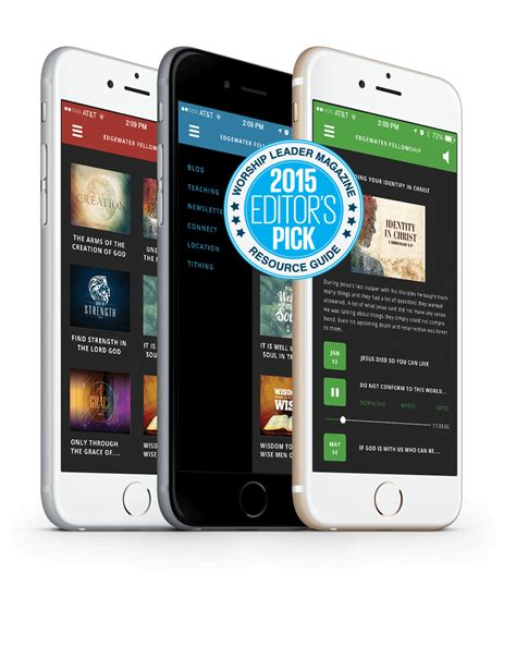 mobile app builder mobile church app builder connect with your congregation